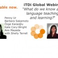 What do we know about language teaching and learning? Recordings available now.