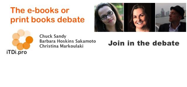 The E-books or Print Books Debate
