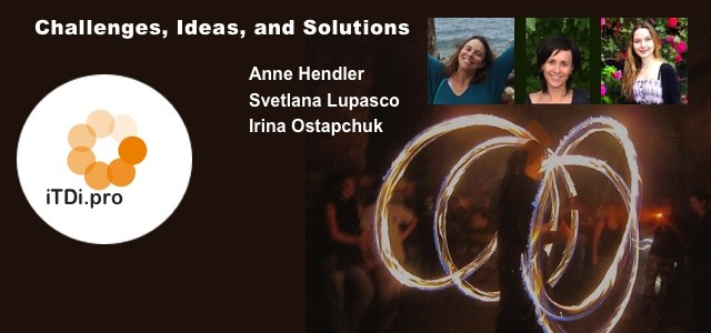 In this issue Anne Hendler, Svetlana Lupasco, and Irina Ostapchuk share posts describing challenges in their work and the ways they're working to overcome them. Anne Hendler Svetlana Lupasco Irina...