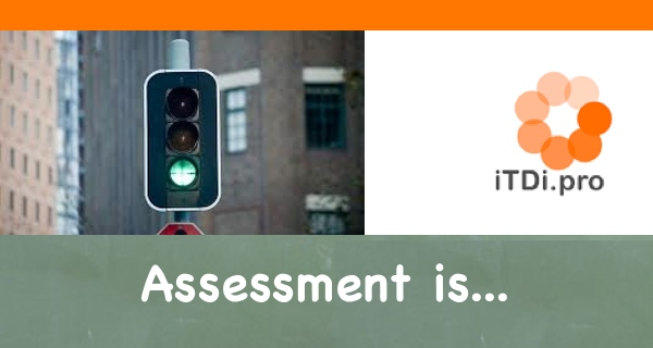Assessment is…