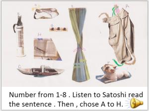 listening test image