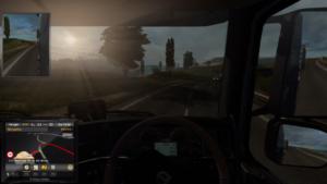 Euro Truck Sunset