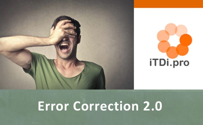 Error Correction 2.0