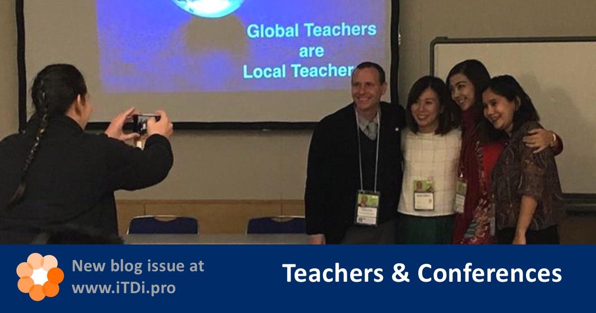 iTDi Blog | Teachers & Conferences
