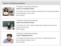 Presenting Vocabulary – iTDi video