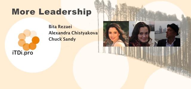 More Leadership