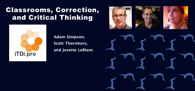 Classrooms, Correction, and Critical Thinking
