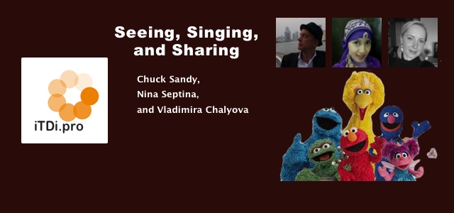 Seeing, Singing, and Sharing