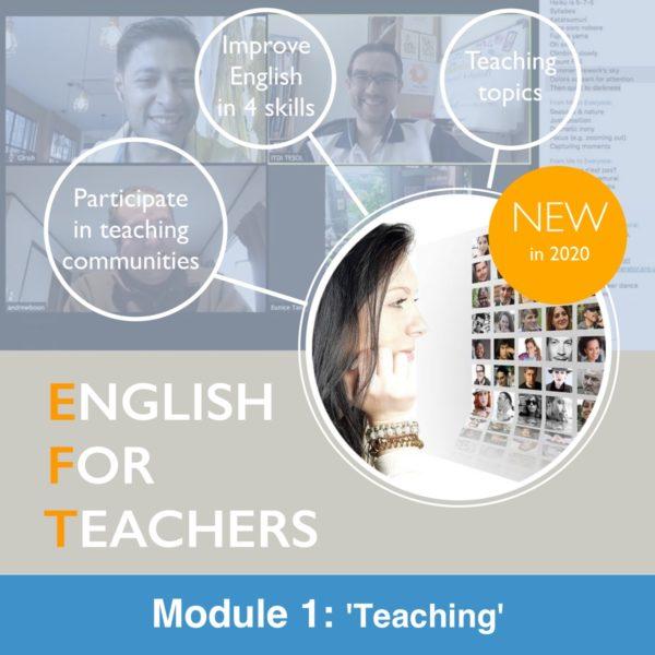 English For Teachers Module 1