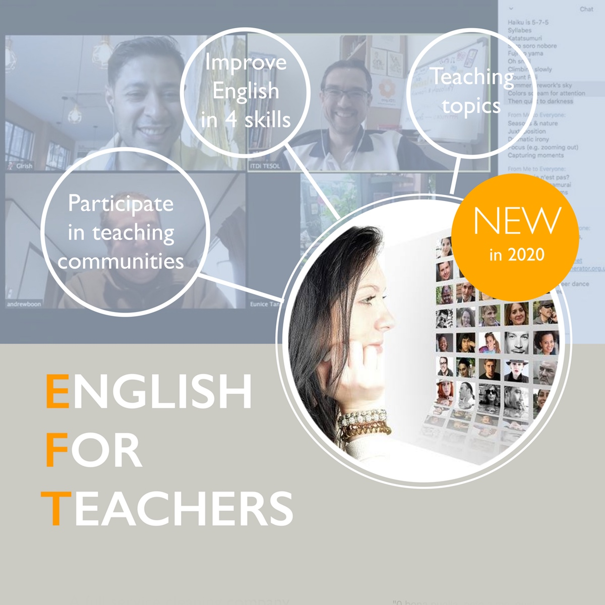English for Teachers course