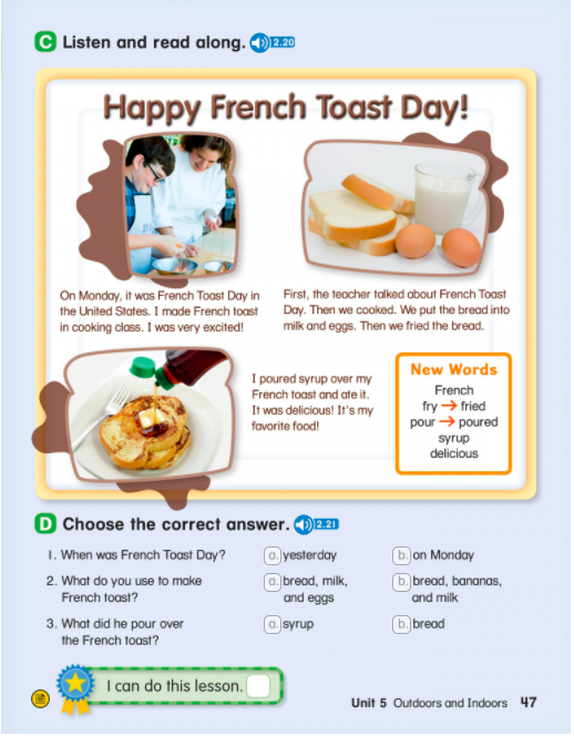 Story about the French Toast Day
