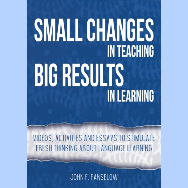 Small Changes Big Results Book Cover