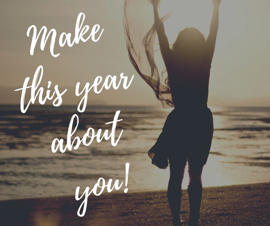Make this year about you
