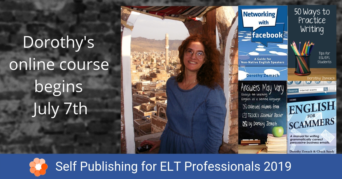 Self Publishing for ELT Professionals 2019
