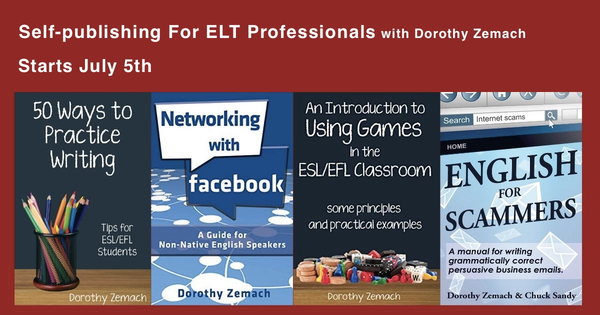 Self-publishing in ELT course